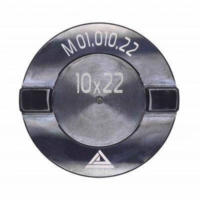 Муфта 10x22 мм