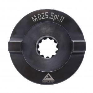 Муфта 25 мм (шлицевая)